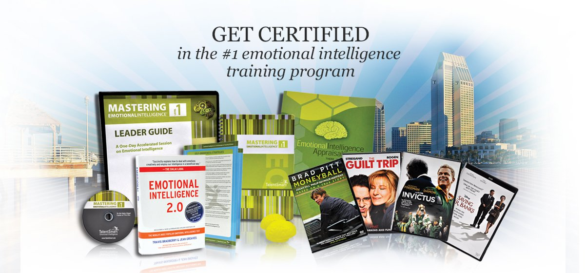 Emotional intelligence certification is a great way for trainers to increase their skill set and bring a new program back to their respective organizations. When you get certified in the TalentSmart EQ program, you learn how to deliver two full days of EQ training that is perfect for leaders, managers, or anyone inside an organization who can benefit from these powerful skills. Unlike most training providers, our program is tailored to the unique needs of trainers who need to license a program and purchase no more than participant kits every time they run a program.
