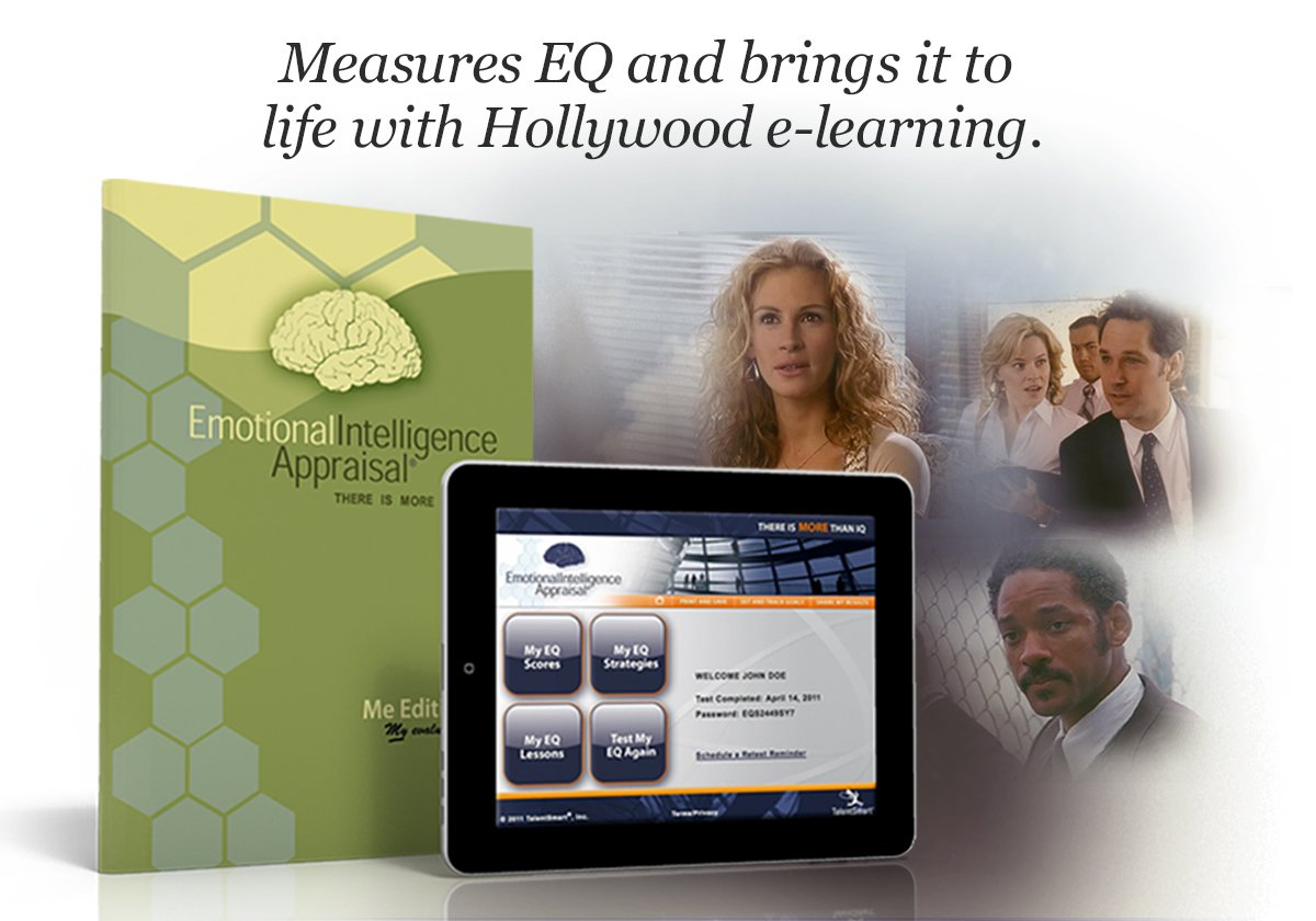 Our emotional intelligence test is an appraisal of your overall EQ, as well as your abilities in each of the four EQ skills. When you take this assessment, you get your scores as well as access to an online e-learning program that teaches and trains EQ skills. This program also includes a goal-tracking system that helps you to track your progress and share your personal goals with others.
